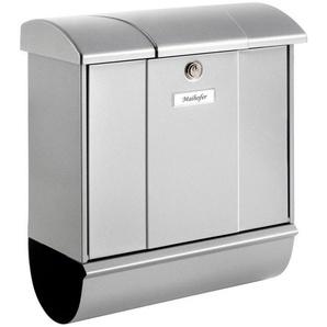 BURG WÄCHTER Briefkasten »Olymp 91600 Si«, Stahlblech-Briefkastenset