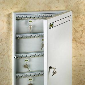 Burg Wächter Schlüsselkasten »6750/96 R« (Set), Schlüsselschrank,mit 2 Schlüssel und beschreibbare Hakenleiste