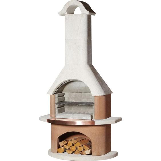 Buschbeck Grillkamin Bologna, BxTxH: 110x65x210 cm B/H/T: 110 x 210 65 weiß Grill SOFORT LIEFERBARE Haushaltsgeräte