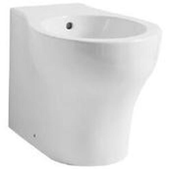 Hange Keramik-Bidet mini 38x48 cm | Glänzendes Weiß