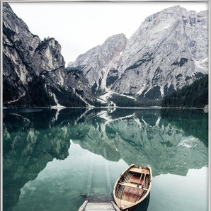 Calm Waters by @rwam - Poster im Alurahmen