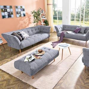 Candy Sofa, grau, Stoff
