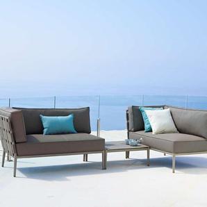 Cane-line Gartensofa-Modul Gartensofa-Modul, braun, Aluminium