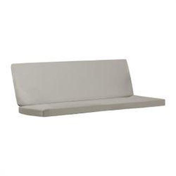 Carl Hansen - Sitzauflage für BK12 Lounge Sofa, Sunbrella charcoal 54048