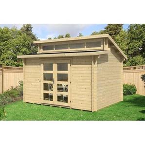 Carlsson - Gartenhaus aus Holz Modell Frajo-28 , ohne Imprägnierung , ohne Farbbehandlung , Imprägnierung ab Werk:ohne Imprägnierung