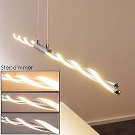 CARMACKS Pendelleuchte LED Chrom, 4-flammig - Modern - Innenbereich - versandfertig innerhalb von 2-4 Werktagen