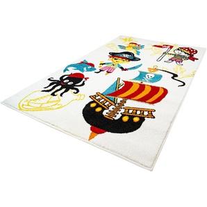 Carpet City Kinderteppich Moda Kids 1518, rechteckig, 11 mm Höhe B/L: 190 cm x 280 cm, 1 St. beige Kinder Kinderteppiche mit Motiv Teppiche
