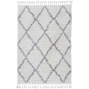 Hochflor-Teppich, Eddy, carpetfine, rechteckig, Höhe 30 mm, maschinell gewebt