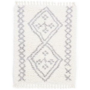 Hochflor-Teppich, Fiona, carpetfine, rechteckig, Höhe 30 mm, maschinell gewebt