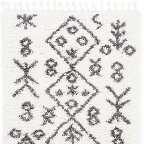 Hochflor-Teppich, Linn, carpetfine, rechteckig, Höhe 30 mm, maschinell gewebt