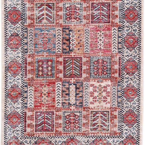 carpetfine Teppich Phoenix, rechteckig, 6 mm Höhe, Vintage Look, Wohnzimmer B/L: 160 cm x 230 cm, 1 St. bunt Esszimmerteppiche Teppiche nach Räumen