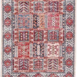carpetfine Teppich Phoenix, rechteckig, 6 mm Höhe, Vintage Look, Wohnzimmer B/L: 200 cm x 290 cm, 1 St. bunt Esszimmerteppiche Teppiche nach Räumen