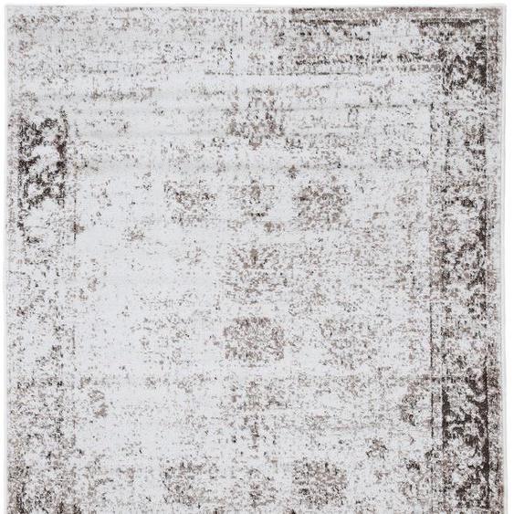 carpetfine Teppich Soli, rechteckig, 8 mm Höhe, Vintage Look, Wohnzimmer B/L: 200 cm x 290 cm, 1 St. braun Esszimmerteppiche Teppiche nach Räumen