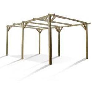 Carport ROBIN 3 x 5 m aus Holz