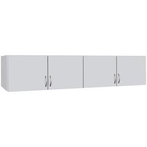 AUFSATZSCHRANK 181/39/54 cm Weiß