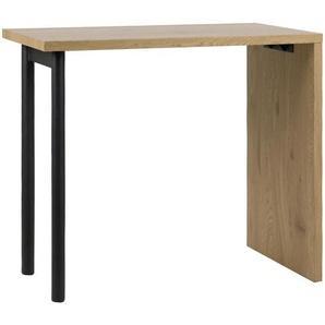 Carryhome: Tisch, Eiche, Schwarz, B/H/T 60 105 120