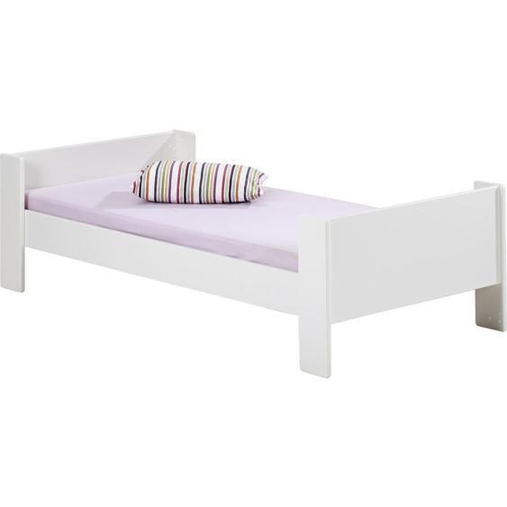 Carryhome Bett , Weiß , Holz , 90 cm