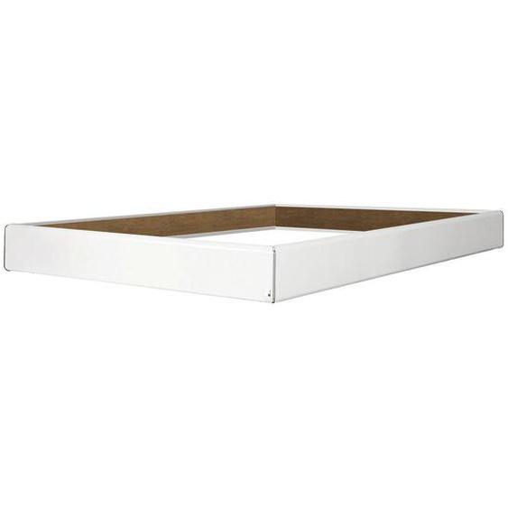 Carryhome Bettrahmen 100/200 cm Weiß , 100 cm