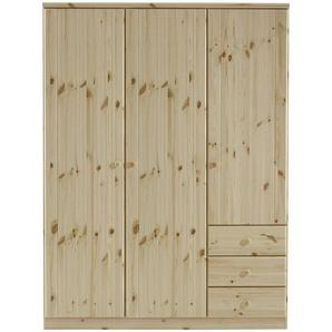 Carryhome: Drehtürenschrank, Holz,Kiefer, Natur, B/H/T 151 202 60