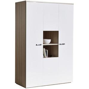 Carryhome: Drehtürenschrank, Holz, Weiß, Esche, B/H/T 140 210 61