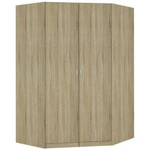 Carryhome: Eckschrank, Holzwerkstoff, Sonoma Eiche, B/H/T 117 197 117
