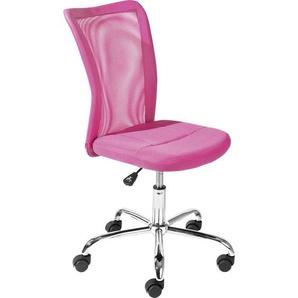 Carryhome: Drehstuhl, Pink, B/H/T 43 88-98 56