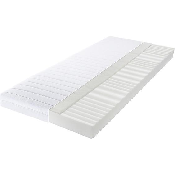 Carryhome Kaltschaummatratze Höhe ca. 15 cm , Weiß , Textil , H2=mittel bis ca.80kg , 100x200 cm