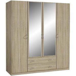 Carryhome: Kleiderschrank, Holzwerkstoff, Sonoma Eiche, B/H/T 181 197 54