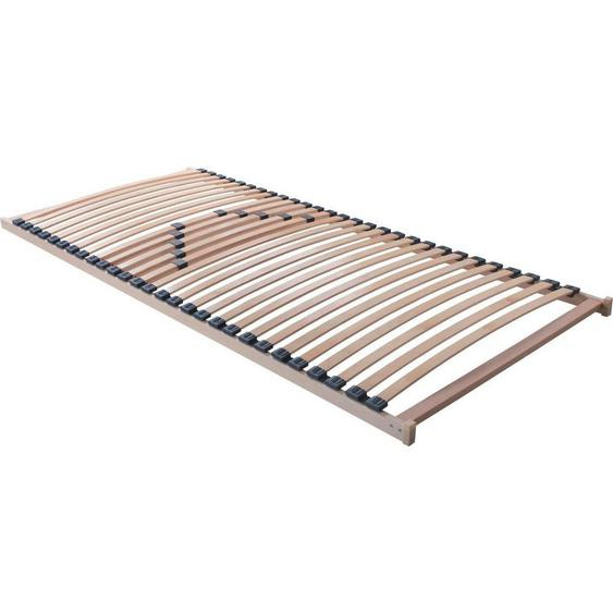 Carryhome Lattenrost Birke Echtholz , Holz, Kunststoff , Echtholz , Schichtholz,Schichtholz , 80x190 cm
