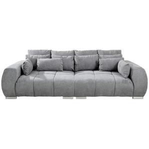 Carryhome: Sofa, Grau, B/H/T 276 86 145