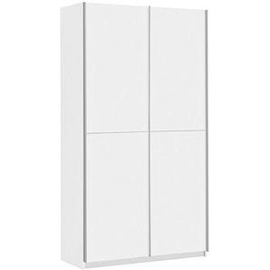 Carryhome: Eckschrank, Holzwerkstoff, Weiß, B/H/T 120 190,5 42