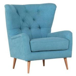 Carryhome: Sessel, Blau, B/H/T 82 100 91