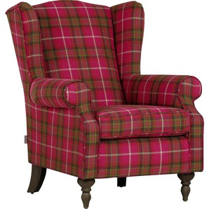 Carryhome: Sessel, Grün, Pink, B/H/T 83 102 87
