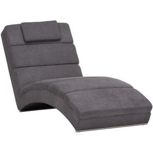 Carryhome: Relaxliege, Grau, B/H/T 75 85 175