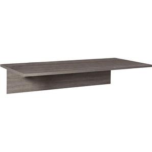 Carryhome Schreibtischplatte , Sonoma Eiche , 80x30 cm , ISO 9001, FSC , Arbeitszimmer, Schreibtische, Bürotische