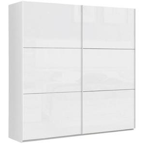 Carryhome: Schwebetürenschrank, Holzwerkstoff, Weiß, B/H/T 200,1 209,7 61,2