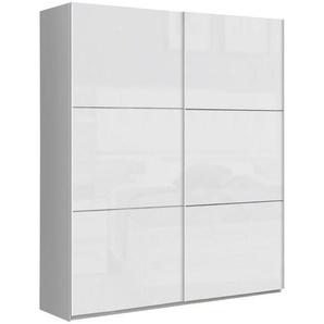 Carryhome: Schwebetürenschrank, Holzwerkstoff, Weiß, B/H/T 170,3 209,7 61,2