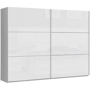 Carryhome: Schwebetürenschrank, Holzwerkstoff, Weiß, B/H/T 269,9 209,7 61,2