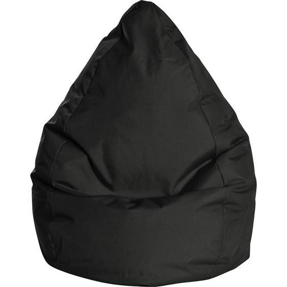 Carryhome Sitzsack Schwarz , Textil , 300 L , 80x130x80 cm