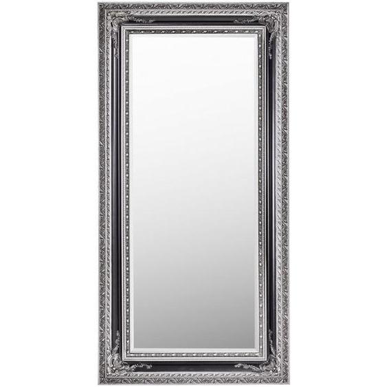 Carryhome Spiegel Eukalyptusholz Mehrfarbig , Holz, Glas , 80x160x6 cm