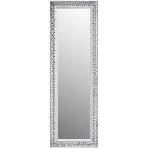 Carryhome: Spiegel, Eukalyptusholz, Silber, B/H/T 50 150 2,7