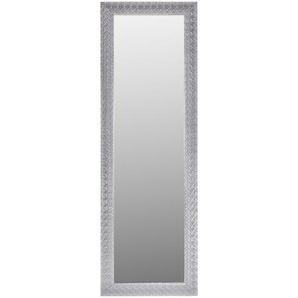 Carryhome Spiegel , Silber , Kunststoff, Glas , rechteckig , 50x150x2 cm , Verzierungen, senkrecht und waagrecht montierbar, in verschiedenen Größen erhältlich , Schlafzimmer, Spiegel, Wandspiegel