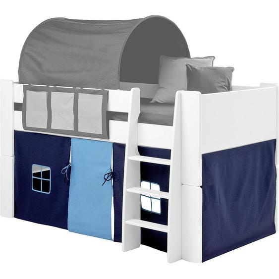 Carryhome Spielvorhang , Blau, Blau , Textil , 190x75x92 cm