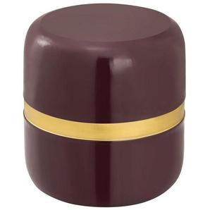 Casamia Beistelltisch »Dekotisch Beistelltisch rund ø 34 H 36 cm Lampentisch Sofatisch Beverley Tisch Metall und Emaille«
