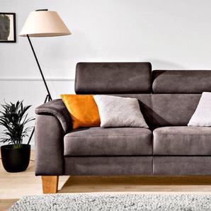 CASEDO Sofa, Anthrazit, Mikrofaser