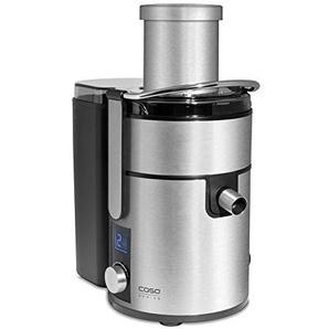 CASO PJ1000 Design Frucht- & Gemüse Entsafter mit kraftvollem 800 Watt Motor, 85mm Einfüllöffnung, 4 Geschwindigkeitsstufen