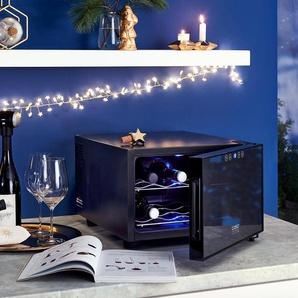 Caso-Weinkühlschrank »Wine Case 8« - Schwarz -