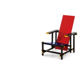 Cassina - Red and Blue Stuhl - classic - indoor