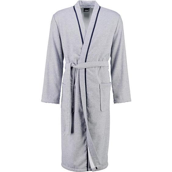 Cawoe Bademantel Grau , Textil , Uni