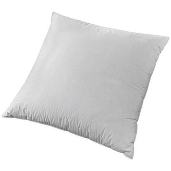 Centa-Star 3-Kammer-Kissen Tradition 80/80 cm , Weiß , Textil , 80 cm